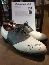 Arnold Palmer Signed Autographed Golf Shoes. Psa / Dna Authentication # Ad00451