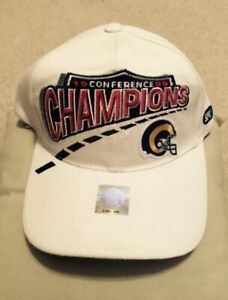 NFL Rams 1999 Conference Champions Hat Cap NWOT NEW
