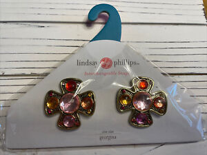 lindsay phillips interchangeable snaps Georgina shoe charms (3 Available)