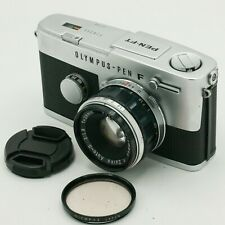 Olympus Pen FT F-T + F.Zuiko Auto-S 38mm F1.8 35mm Half Frame SLR Analog Camera