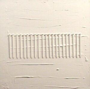80x80cm Nagelbild Verweißung abstrakt Düsseldorf Kunstmüllerei Zero Informel