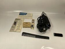 Vintage Oster Hair Clippers Model 22 With Box And Accessories TESTED WORKS!