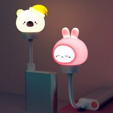Animal Cartoon Shaped LED Lamp USB Baby Children Bedside Sleeping Night Light