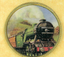 Oregon Express favor train engine button NERBA show 2006 paper in metal Large