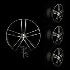 4x 17 Zoll Alufelgen für Alfa Romeo Giulietta / Dezent TH dark (B-4603116)