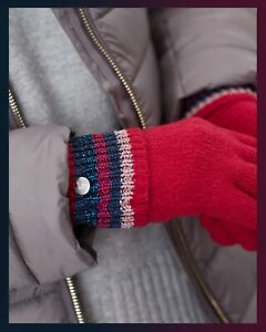 JOULES - Womens Vinnie Knitted Gloves - Choice of Colours - Bnwt - Sealed.