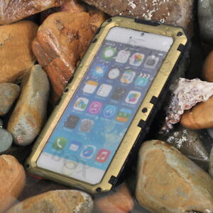 Extreme IP68 Waterproof Alloy Metal Armor Case Cover for iPhone 6 7 8 11 12 X XS