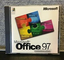 MICROSOFT OFFICE 97 PROFESSIONAL EDITION WITH PRODUCT CD KEY