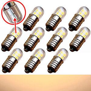 E10 LED 6V 3200K - Screw Mount Moravian Star Lighting Lamp Warm White