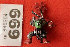 Warhammer 40k Orks Big MEK con bits de pistola de Ataque Shokk fuera de imprenta Metal Repuestos WH40K