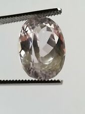 *US***SELLER* Natural Pink Kunzite 17.46 Ct Afganistan Unheated Oval Shape Gem