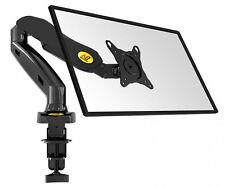 "LCD LED Monitor-Tischhalterung 17-27"" Monitorhalter VESA 75 100 PIVOT - NB F80 B"