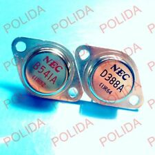 1pairs OR 2PCS  Transistor NEC TO-3 2SB541A/2SD388A B541A/D388A