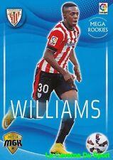 027 WILLIAMS ESPANA ATHLETIC CLUB CARD MEGA ROOKIES MEGACRACKS 2016 PANINI