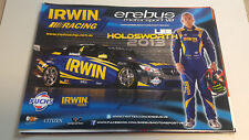LEE HOLDSWORTH  IRWIN RACING signed Supercars Poster