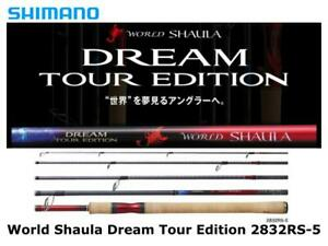 Shimano World Shaula Dream Tour Edition 2832RS-5 spinning rod ship from Japan