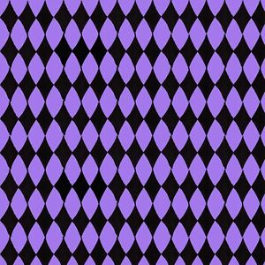 Purple Black Harlequin Witch fabric