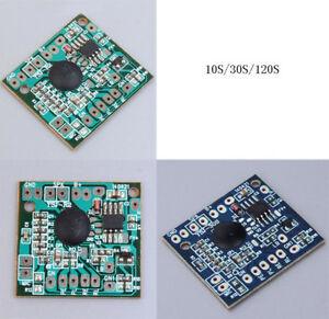 10s 30s 120s Recording and Play Voice Module Record Playback for Greeting Card