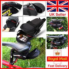 CYCLING BIKE BICYCLE WATERPROOF SADDLE BAG WEDGE PHONE REAR SEAT UK