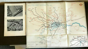 London Passenger Transport Board 5th Annual Report and Accounts 30 June 1938 MAP