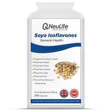 Isoflavonas De Soja - 400 Mg - 240 Cápsulas
