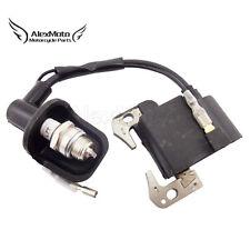 Pocket Bike Ignition Coil Spark Plug For 47cc 49cc Mini Dirt Quad ATV Minimoto