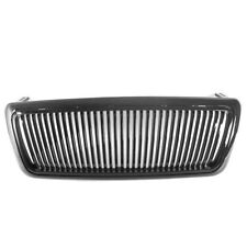 2004-2008 FORD F-150 F150 PICKUP VERTICAL FRONT MAIN HOOD GRILLE GRILL BLACK NEW