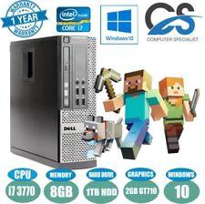 Computer desktop Dell Velocità processore 3.40GHz Dimensione Hard Disk 1TB