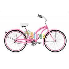 """Micargi Rover LX 24"""" Aluminum Women's Beach Cruiser Bike Pink"""