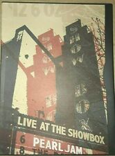 Pearl Jam Live at the Showbox Seattle Concert DVD 12/06/2002