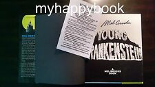 SIGNED Young Frankenstein by Mel Brooks, hardcover book, autographed, new