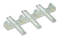 Peco SL-711FB Rail Joiners, Insulated, for flat bottom rail (code 143) O Gauge