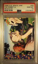 *POP 6* 1996 Upper Deck Space the Rabbit is Revealed #34 Michael Jordan PSA 10
