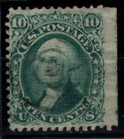 P126784/ UNITED STATES – SCOTT # 89 USED CERTIFICATE – CV 350 $