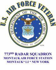 773RD RADAR SQUADRON * LONG ISLAND* NEW YORK USAF EMBLEM SWEATSHIRT OR SHIRT