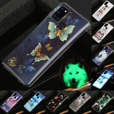 For Samsung A21S A31 A41 A51 A71 Luminous Painted Slim Soft Silicone Case Cover