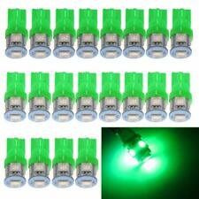 20 x Ultra GREEN T10 5050 5SMD Interior Map Dome Tag LED Lights 168 2825 194 921