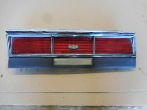 1979 Chevrolet Caprice Right Tail Light Assembly