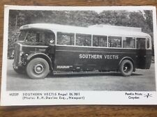 IOW Isle Of Wight Libraries Postcard Southern Vectis Bus Regal DL 7811