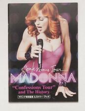 Madonna Japanese Flyer Confessions Tour and The History Mini Book