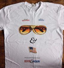 Para Hombre Elvis & Nixon película T-shirt Tamaño mediano con Kevin Spacey & Michael Shannon