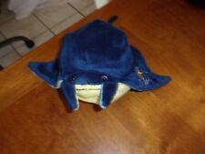 "Tampa Bay Rays Logo Baseball Plush blue yellow stingray Lubies Round Chunky 8"""