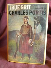 True Grit by Charles Portis 1st Edition, 1st Print, Hardcover, 1968