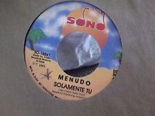 45) MENUNDO SOLOMENTE TU / BAILA ON SONG RECORDS