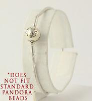 New Pandora Essence Charm Bracelet - Sterling Silver 596000-18 Lock Barrel Clasp