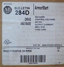 NEW ALLEN BRADLEY ARMORSTART MOTOR STARTER CONTROLLER 284D-FHD2P3Z-10-RRW 480V