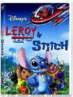 Lilo & Stitch TV Series Conclusion Disney Channel Movie Leroy & Stitch on DVD