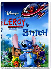 Lilo & Stitch TV Series Conclusion Disney Channel Movie Leroy & Stitch on DVD