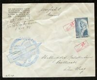 s1979) Raketenpost Niederlande Komeet P 8  Roberti 6. Dec 1934 - sehr selten
