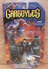 Genuine Kenner 1995 Gargoyles Xanatos w/ Disguise Armor & Battle Wings! **NOS**